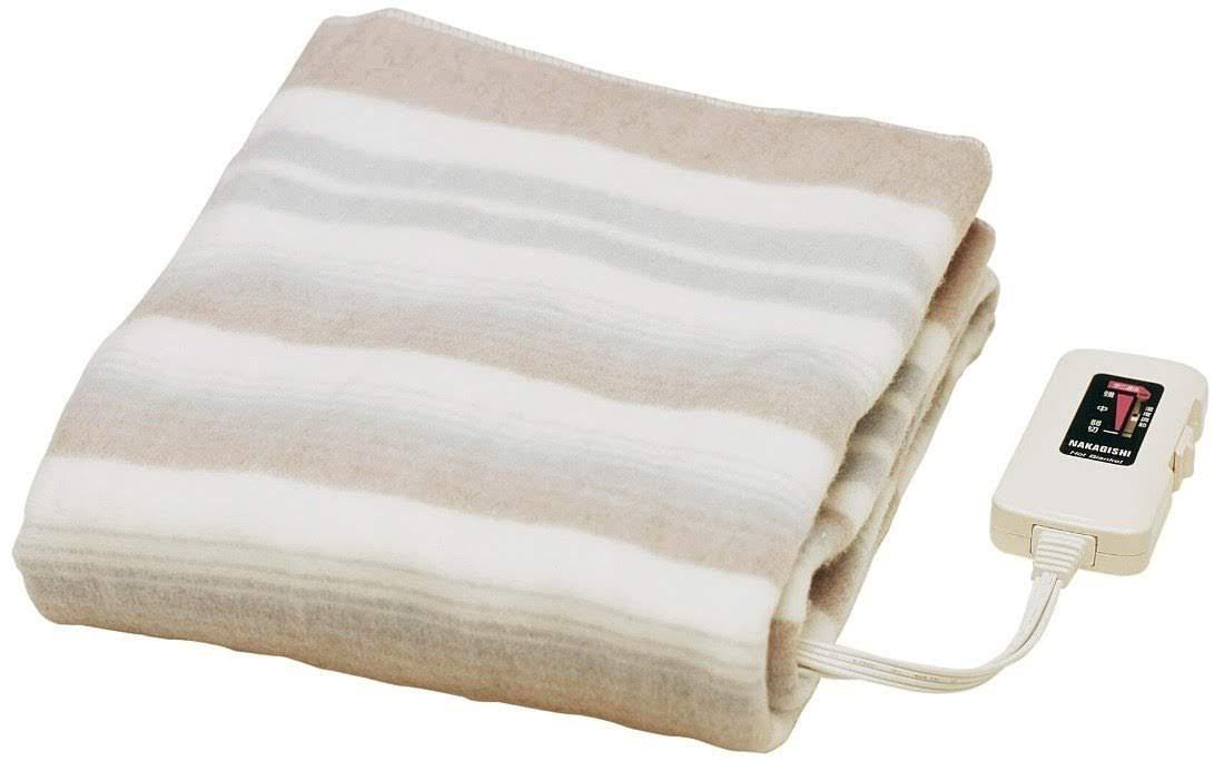 Sugiyama 【水洗いOK】 敷き毛布 140×80cm