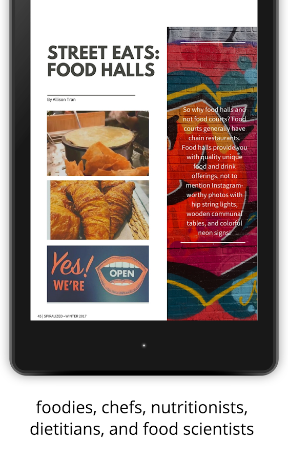 Spiralized Magazine- screenshot