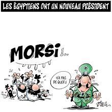 Photo: 2012_Morsi, nouveau président de l'Egypte