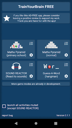 Brain Games Collection FREE App Report on Mobile Action