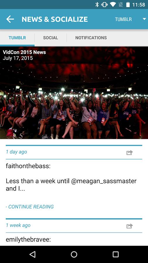VidCon 2015- screenshot