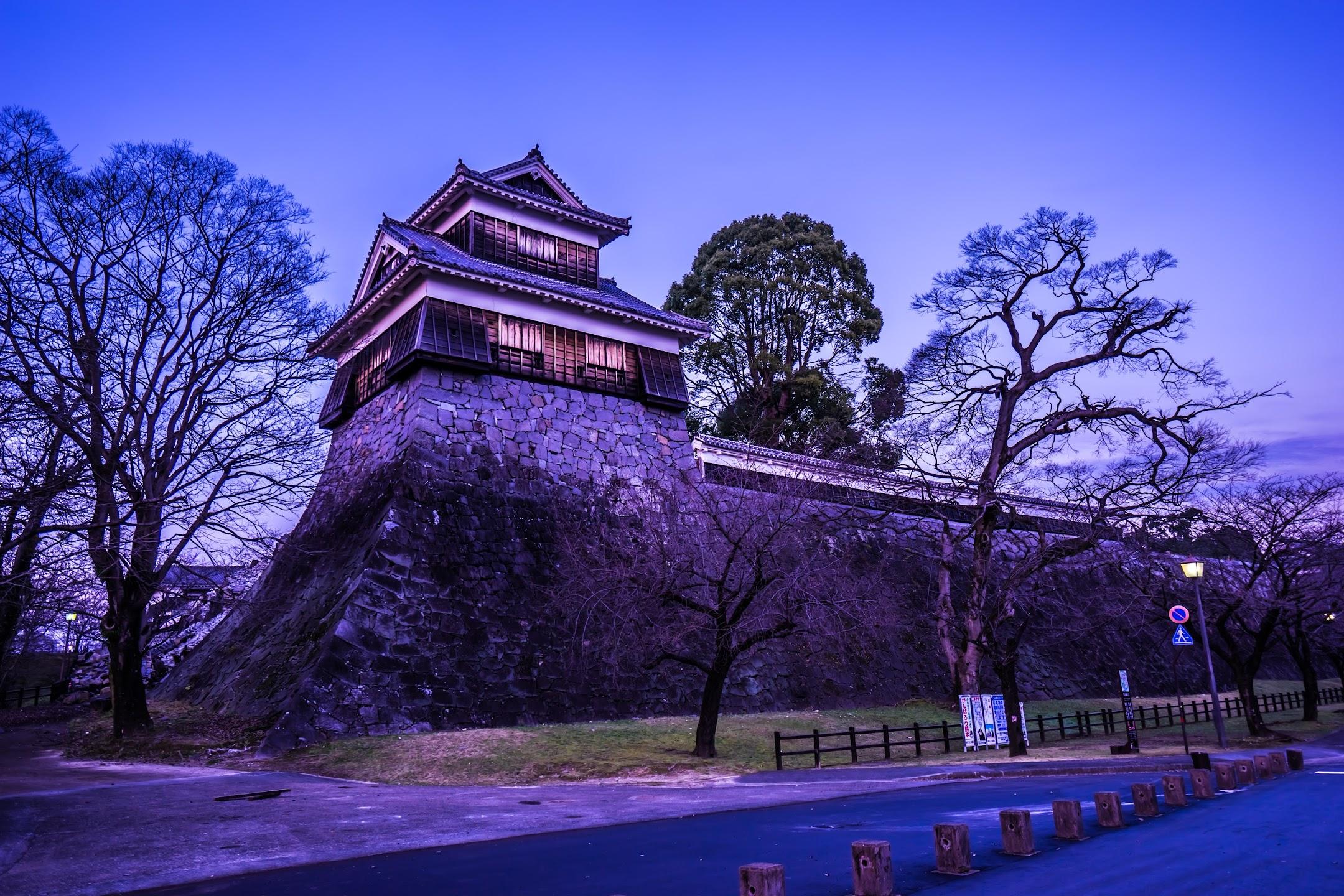 Kumamoto Castle Hitsuji Saru Turret2