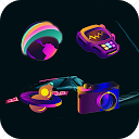 Circus Ballroom Icon Pack-Colorful Candy Style APK