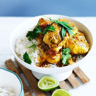 Sri Lankan fish curry.
