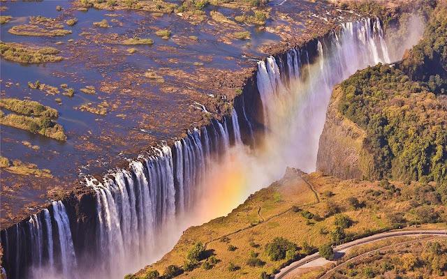 Victoria Falls Theme & New Tab