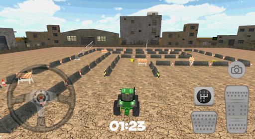 3D City Tractor Car Park