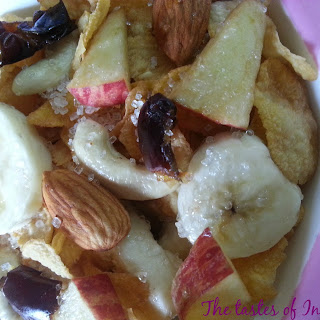 Fruity Cornflakes - Kids Healthy Breakfast Recipe