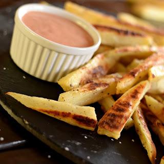 Sweet Potato Fries W/ Amazing Dipping Sauce Recipe