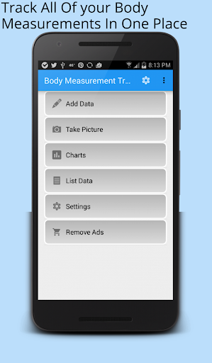 Body Measurement Tracker
