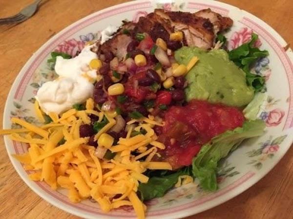 Southwestern Chicken & Black Bean Salad Recipe