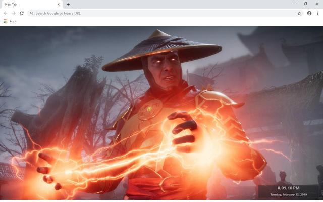 Mortal Kombat 11 Wallpapers and New Tab