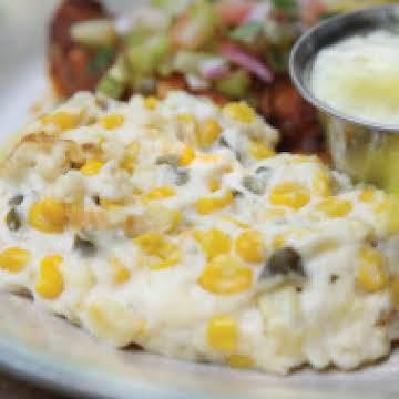 Pottery House Cafe's Jalapeño Corn Pudding