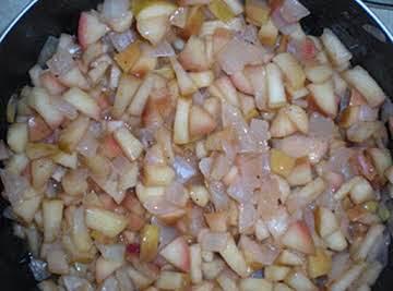 Smokey Apple Onion Compote