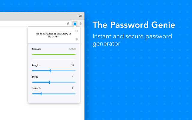 The Password Genie