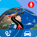 GPS Live Map Direction Navigation - Street View 3D icon