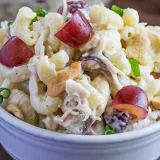 Cashew Chicken Pasta Salad.