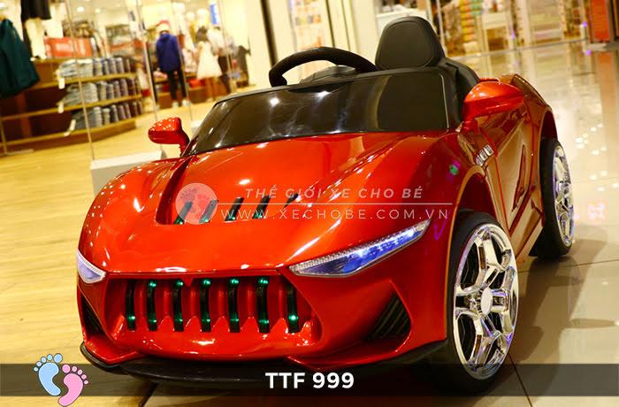 Ô tô điện đồ chơi trẻ em cao cấp TTF-999 6