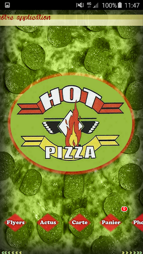 Hot pizza 77