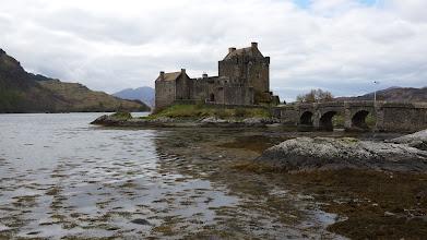 """Photo: Eilean Donan Castle (tournage du film """"Highlander"""""""