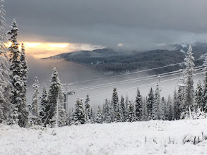 Photo: Unusually warm temperatures and dry weather have been the trend in the Southern San Juans this fall.  Luckily a storm snuck in and left Wolf Creek with five inches of snow Saturday, November 5th, 2016!