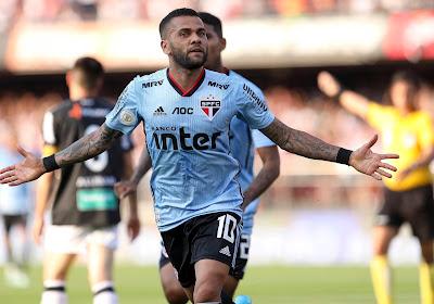 A 38 ans, Dani Alves retrouve la sélection brésilienne