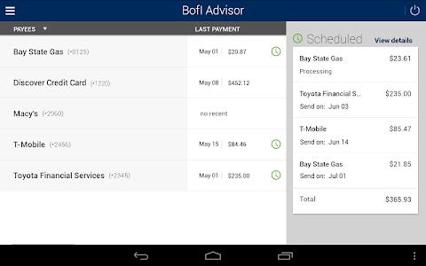 BofI Advisor Mobile App screenshot 13