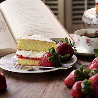 British Victorian Sponge Cake