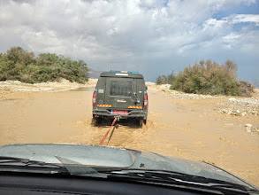 Photo: Poor Zikos is towed once again!