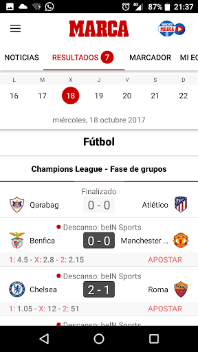MARCA - Diario Lu00edder Deportivo 6.1.17 screenshots 2