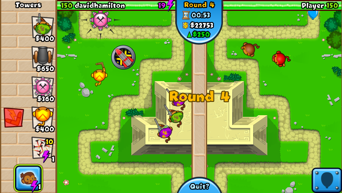 #2. Bloons TD Battles (Android)
