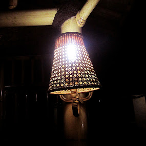 decorative lamps of bamboo by Jumari Haryadi - Artistic Objects Antiques ( bamboo, decorative, artistic, object, antique )