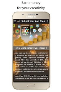 Submit Your App Idea- screenshot thumbnail