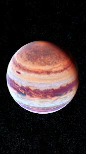 Jupiter Live Wallpaper 3D - náhled