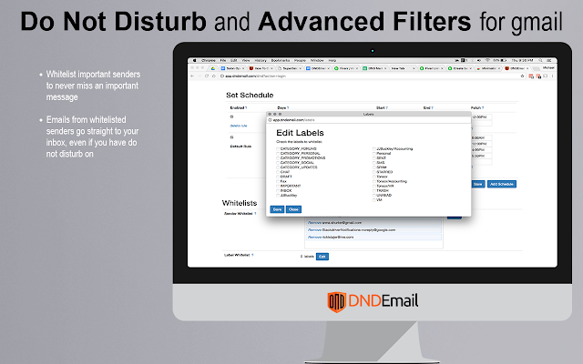 DND Email - Do not disturb for your Inbox  - G Suite Marketplace