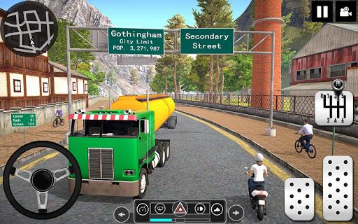 Oil Tanker Truck Driver 3D - Free Truck Games 2020 apktram screenshots 6