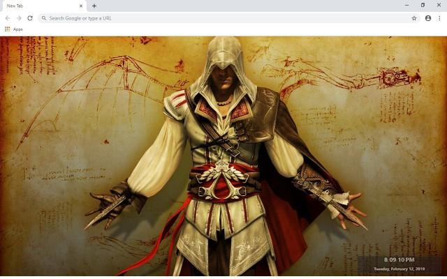 Assassin's Creed III New Tab