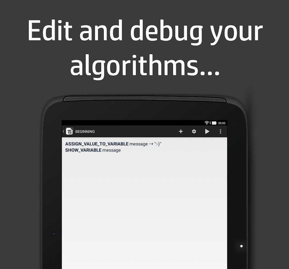 Algogo – Algorithm Interpreter- screenshot