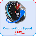 Connection speed test icon