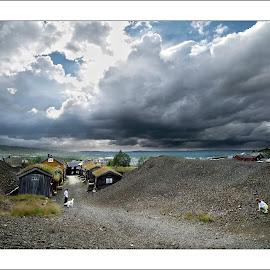 Røros by Kristinn Gudlaugsson - Landscapes Cloud Formations ( sky, røros, norway )