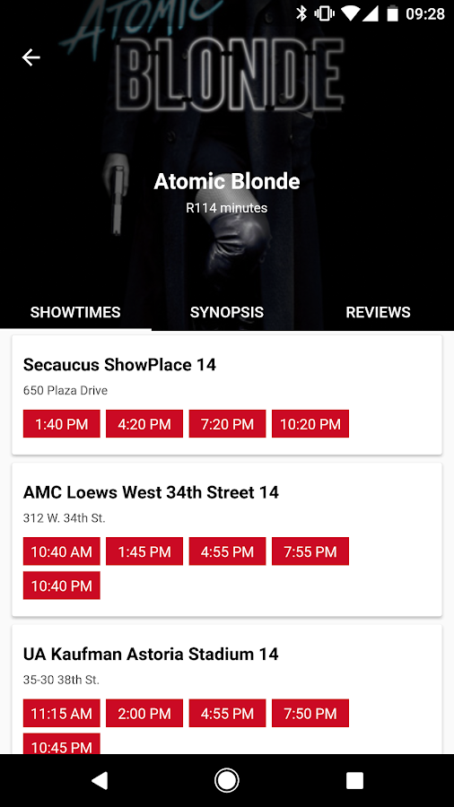 MoviePass- screenshot