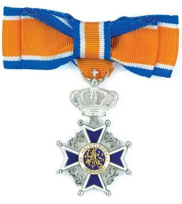 2019-05-18 Ingrid onderscheiden: Lid in Orde van Oranje-Nassau