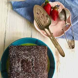 Eggless Chocolate Sponge Cake in Pressure Cooker | Vegan Chocolate Sponge Cake.