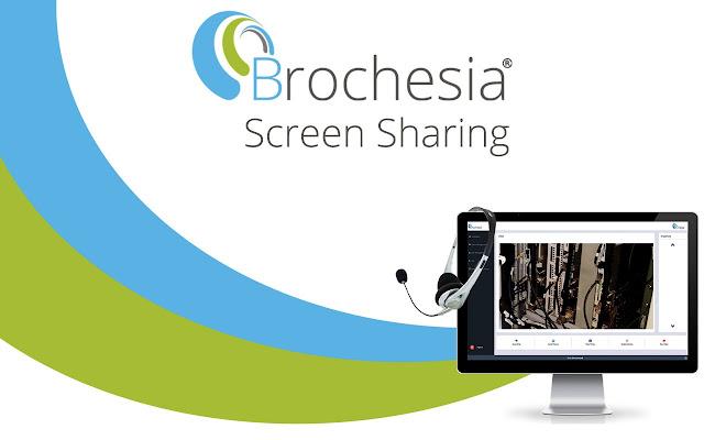 Brochesia Screen Sharing