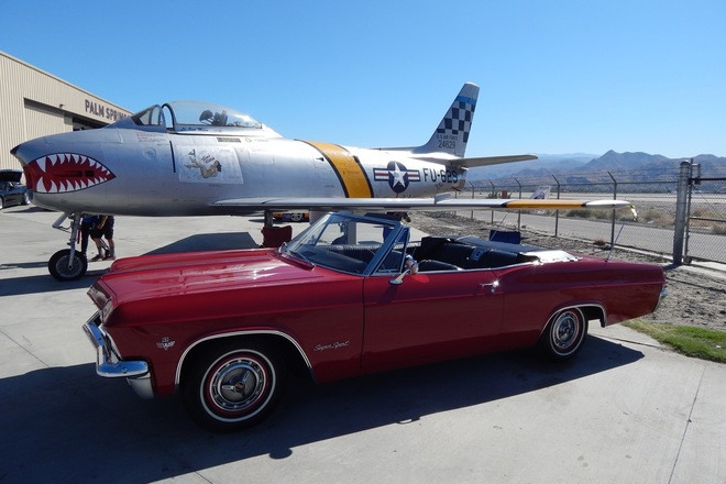 1965 Chevy Impala Super Sport Hire CA