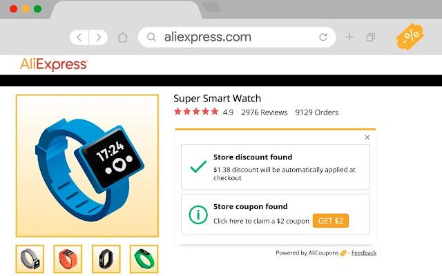 AliExpress Coupon Finder