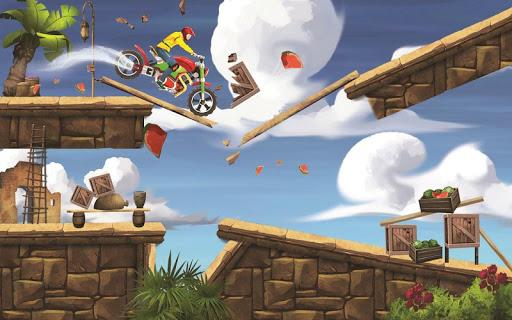 Mini Bike Stunt Trails - Racing Bike Games screenshots 1