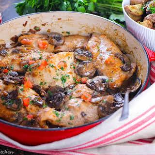 Dreamy Chicken Marsala.