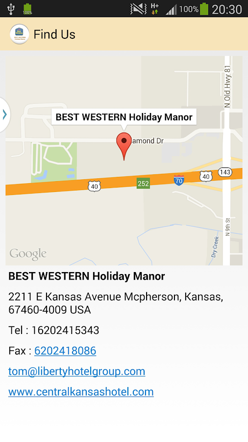 BEST WESTERN Holiday Manor- screenshot