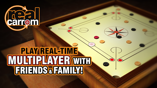 Real Carrom 3D : Multiplayer 2.2.1 screenshots 1