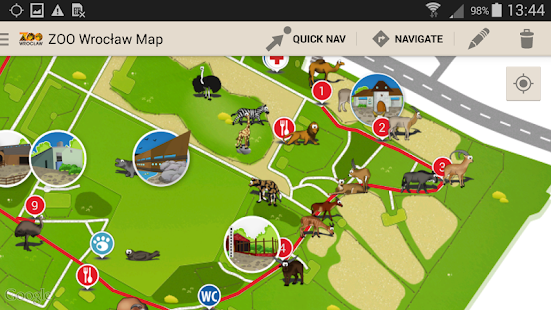 Zoo Wrocaw Map Apps on Google Play